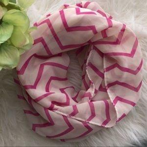 Accessories - Chevron chiffon scarf